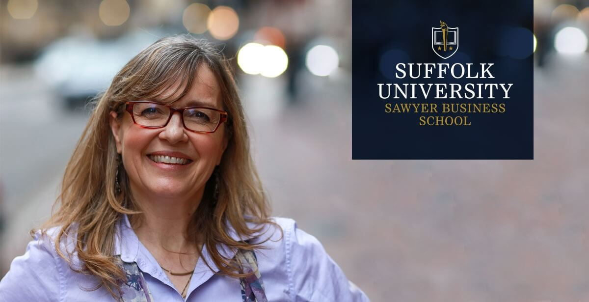 Jodi Detjen, MBA Program Director for Suffolk University.